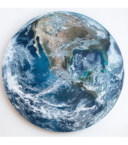 Drewniane Puzzle Ziemia 167...