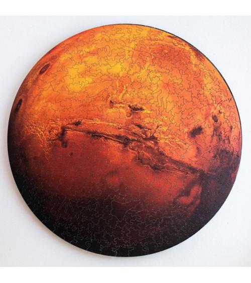 Drewniane Puzzle Mars