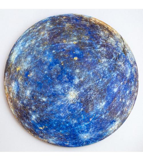 Drewniane Puzzle Merkury