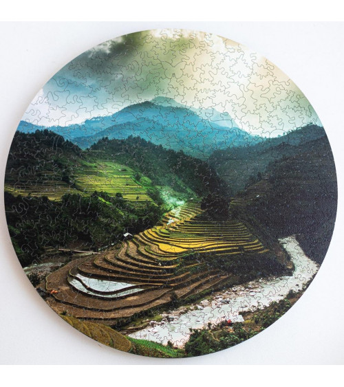 Drewniane Puzzle Bali