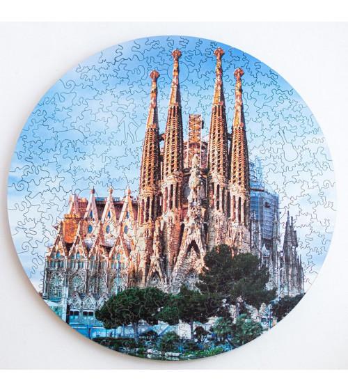 Drewniane Puzzle Sagrada...