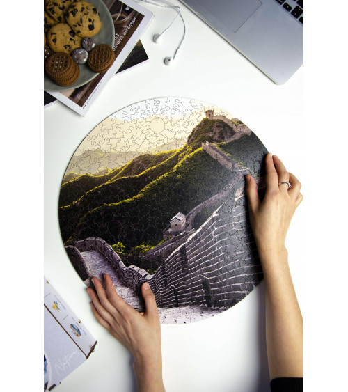Drewniane Puzzle Wielki Mur...