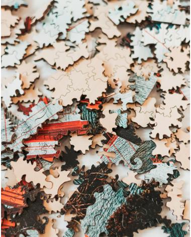 Drewniane Puzzle Most...