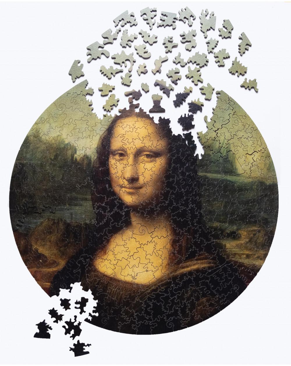 Drewniane Puzzle Mona Lisa...