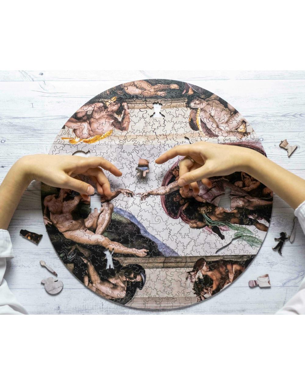 Drewniane Puzzle Stworzenie...