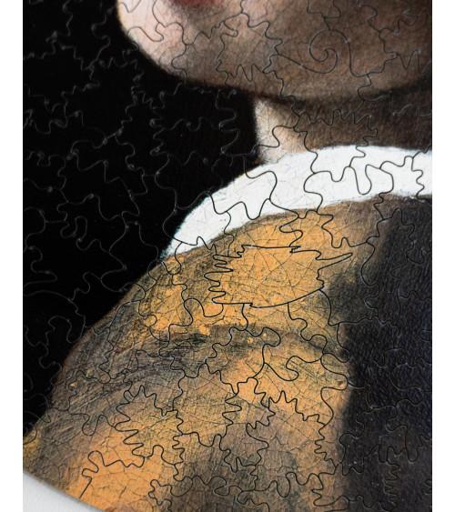 Drewniane Puzzle Dziewczyna...