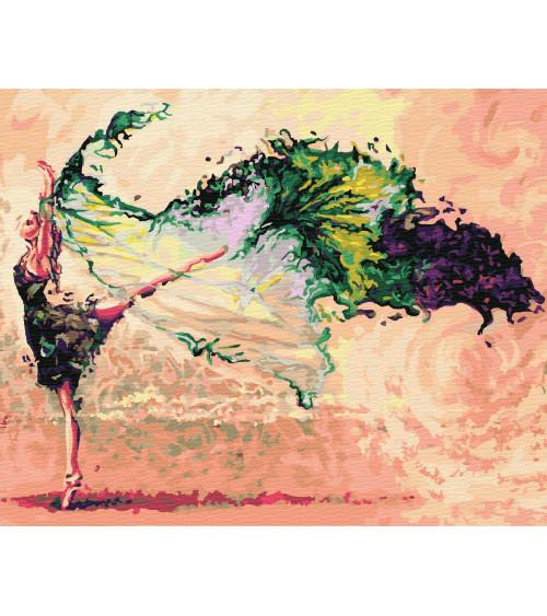 Malowanie po numerach Taniec