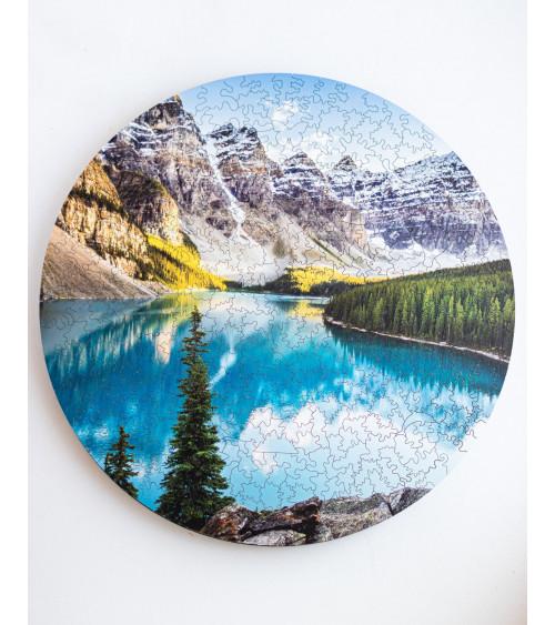 Drewniane Puzzle Park Narodowy Banff 388 szt.