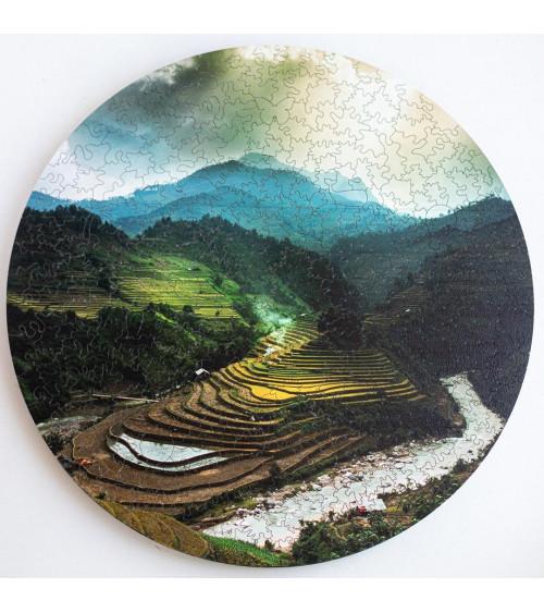 Drewniane Puzzle Bali 455 szt.