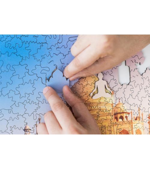 Drewniane Puzzle Tadż Mahal...