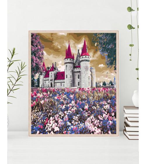 Malowanie po numerach Zamek...