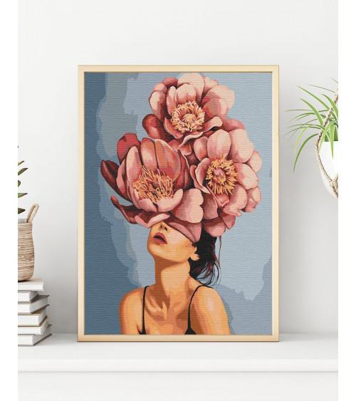Malowanie po numerach Kwiat...