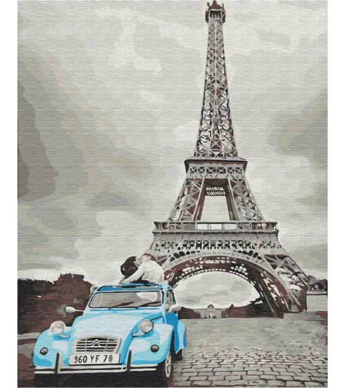 Malowanie po numerach Retro Paryż