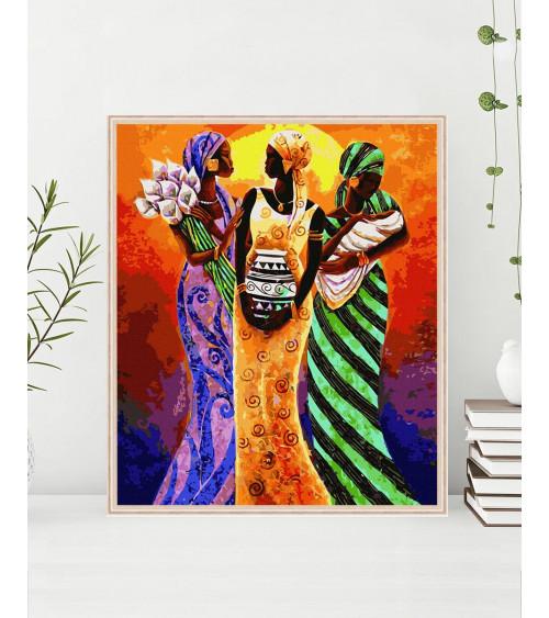 Malowanie po numerach Afrykańskie motywy