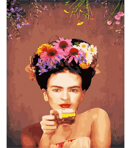 Malowanie po numerach Frida...