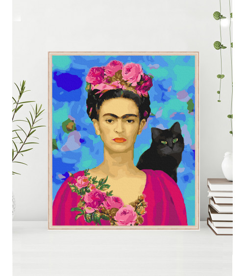 Malowanie po numerach Autoportret Fridy Kahlo