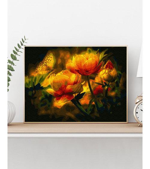 Malowanie po numerach Magiczne tulipany