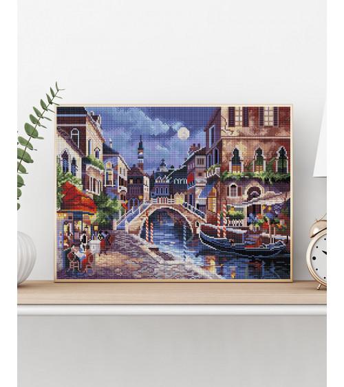 Mozaika diamentowa Wenecja nocą