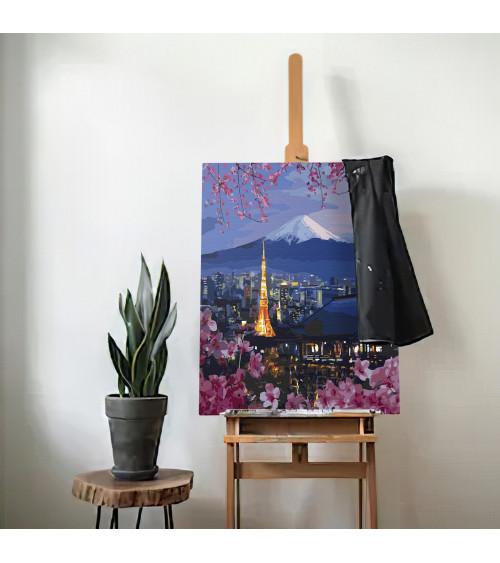 Malowanie po numerach Fujiyama