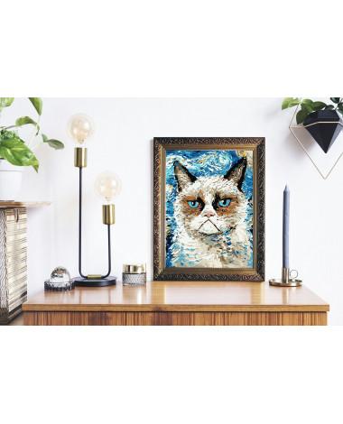 Malowanie po numerach Kot...