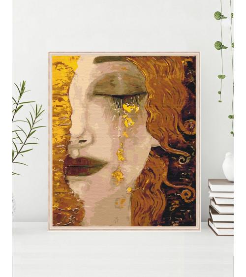 Malowanie po numerach Złote...