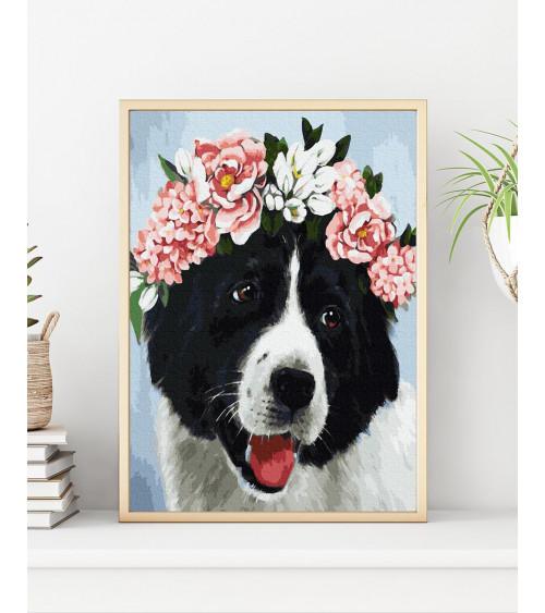 Malowanie po numerach Pies...