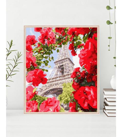 Malowanie po numerach Paryż...