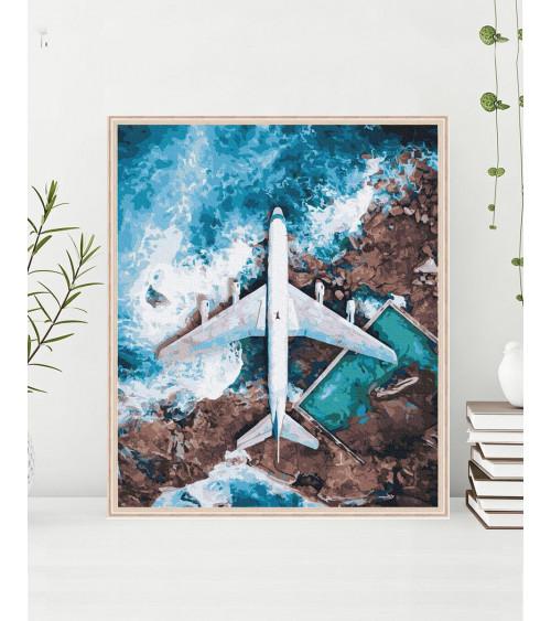 Malowanie po numerach Nad oceanem