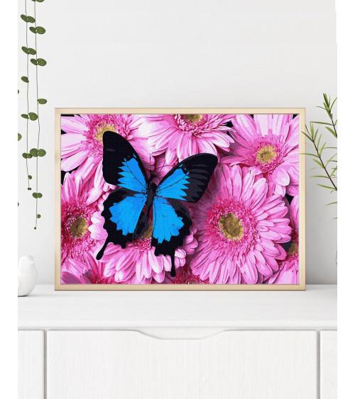 Malowanie po numerach Motyl