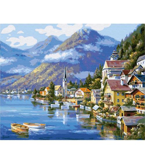 Malowanie po numerach Malownicza Austria