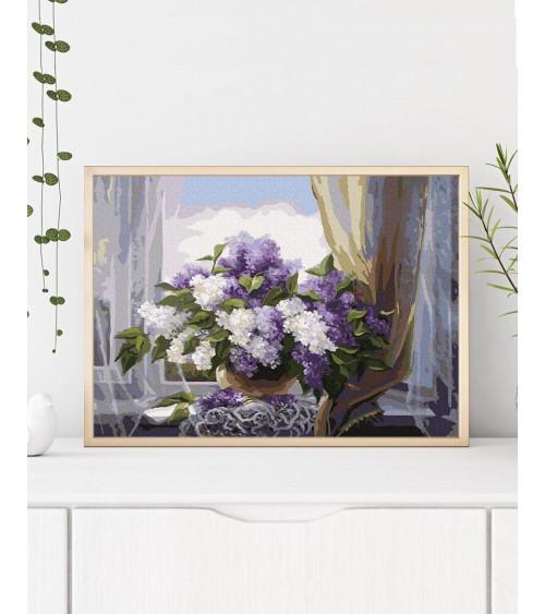 Malowanie po numerach Lilac...