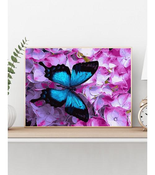 Malowanie po numerach Motyl...