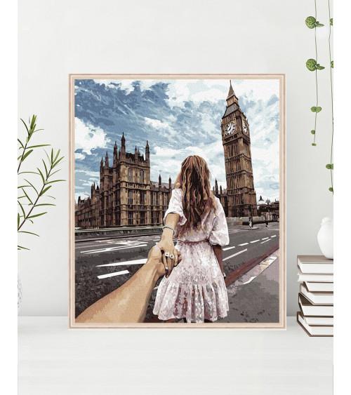 Malowanie po numerach Big Ben